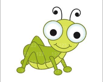 11 Awesome Cute Grasshopper Clipart Images Clip Art Cute Drawings Insect Art