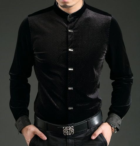 picture Black Style Formal Black Style Shirts For Men black shirt outfit men