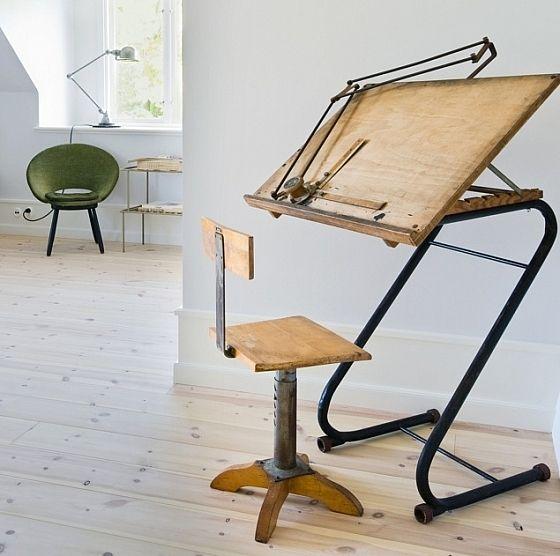 Antieke Houten Tekentafel.Antiek Tekenbord Art Tekentafel Interieur En Meubels