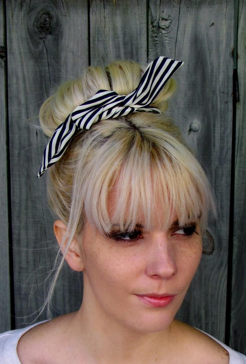 Crochet Head Band Hair Band Boho and vintage styles with unique pattern pastel colors