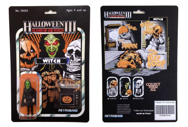 SEASON OF THE WITCH Halloween III 3 WITCH Custom Action