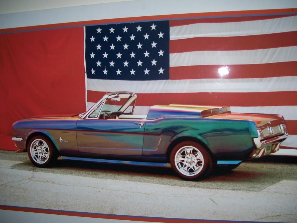 Classic Man Cave Jobs : Amazing paint job my rides car man cave mustang