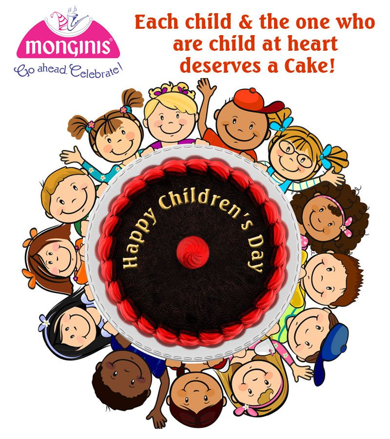 Every Child Is A Gift Happy Children S Day Http Www Monginis Net Category Cakes Happy Birthday Greetings Happy Children S Day Child Day
