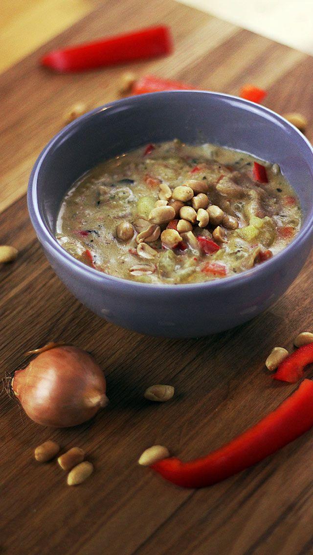 Bolivian peanut soup   Suppen: schnell, gesund und bunt ...
