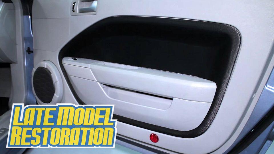 Sve Mustang Door Panel Insert Kit 05 09 Ol Sally Stang