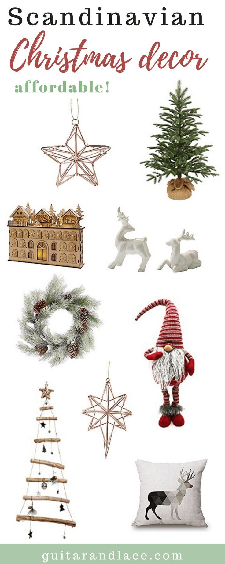 Scandinavian Christmas Decor | [Creativity] Blogs with Brains and ...