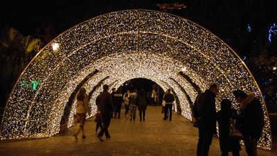 Christmas lights in Salerno, Italy | THE most Wonderful Time of the ...