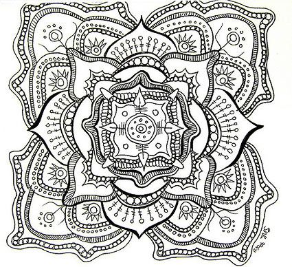 Mandela Art Templates | Making mandala art is healing ...