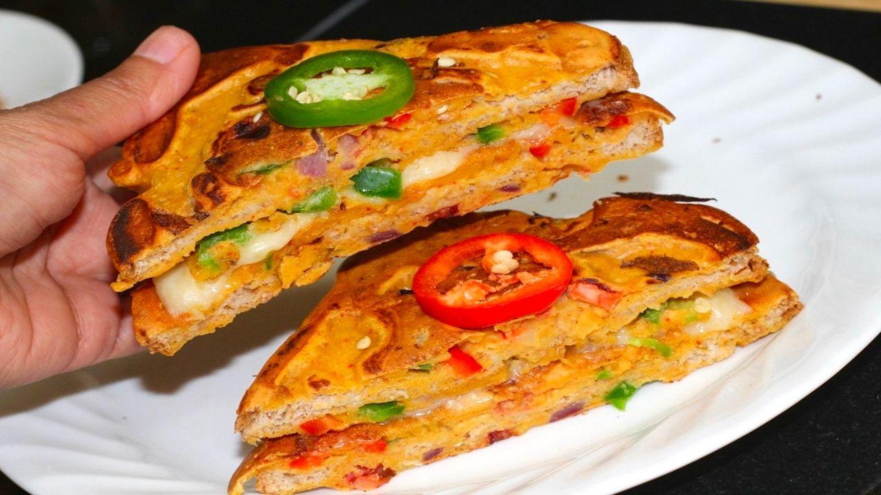 Besan toast cheese sandwich video recipe bhavnas kitchen besan toast cheese sandwich video recipe bhavnas kitchen youtube forumfinder Choice Image