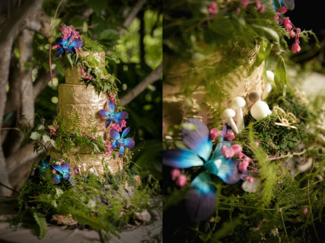 Enchanted forest wedding cakes by The Cake Witch Cakes