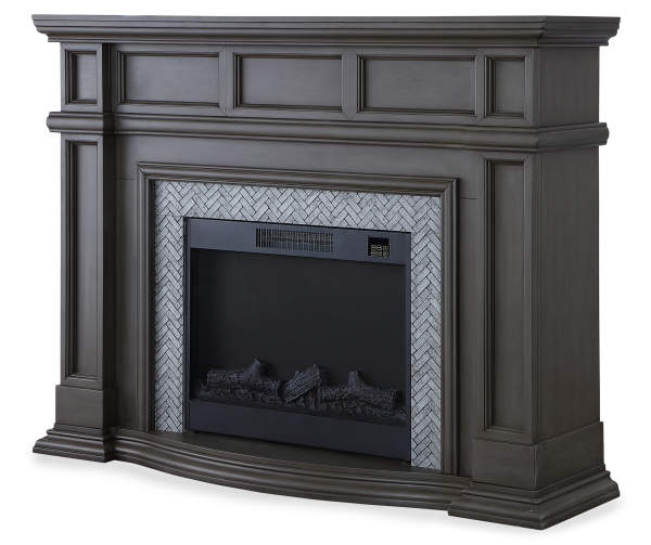 Grand Gray 62 Electric Fireplace Big Lots In 2020 Modern
