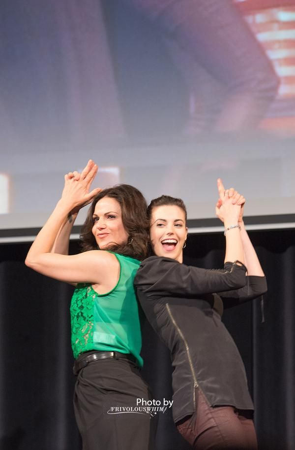 Lana Parrilla and Meghan Ory, two of my favorite ladies!