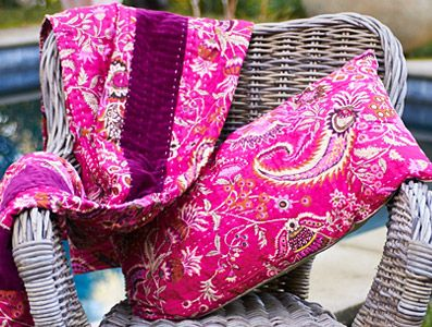 Caravan - Kantha Throw