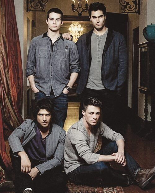 Teen wolf boys I'm like no doubt in love with tern wolf and the boys! hahahah I started the seasons yesterday night...I finished 1&2 less than 2 days...