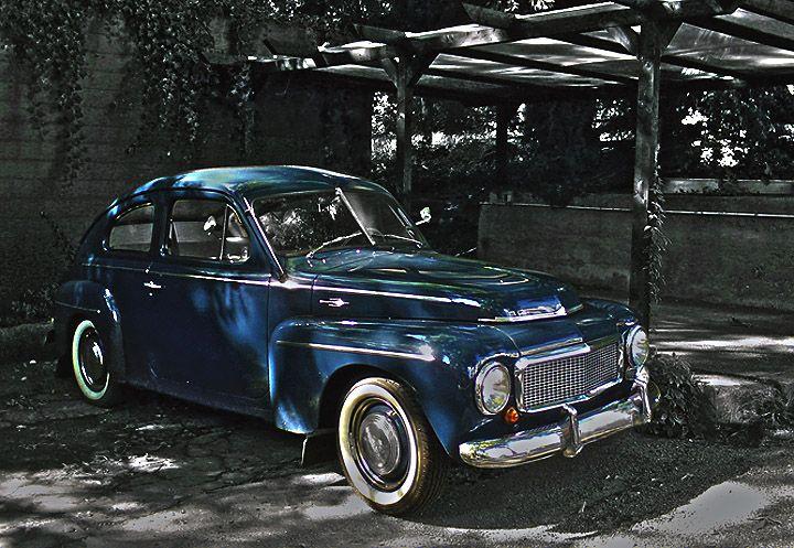 Old classic Blue Volvo- my next Volvo Shari Brown Barat amiright???