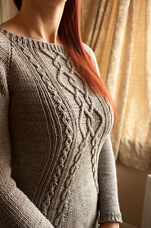 e6eec90e8221d A dk or light worsted weight cabled pullover