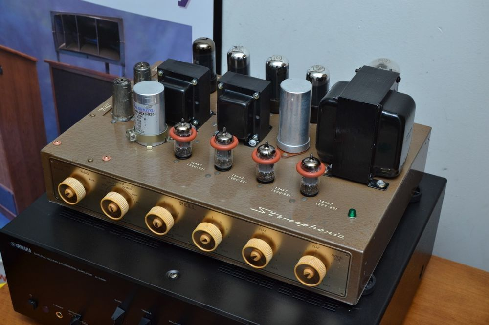 Own A Piece Of History With This Rare Bell Amplifier 400 Volt