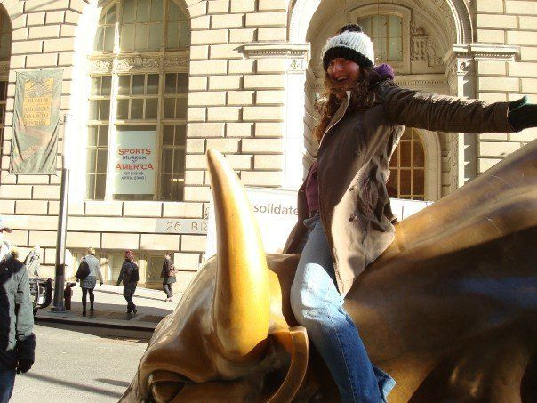 What else is there to do in New York's financial district?!