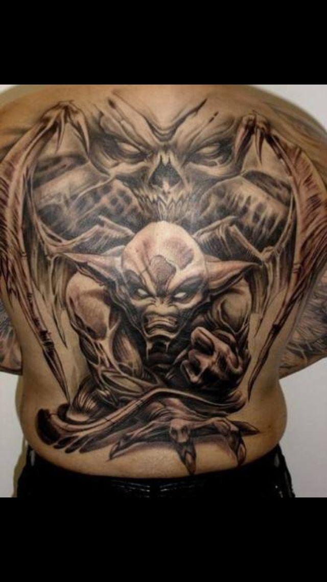 Love the demon tattoo | tattoo | Pinterest | Demon tattoo ...