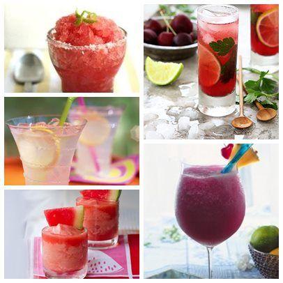 Que tal dar boas vindas ao verão também em sua festa?  Junto ao bar de caipirinhas coloque opções como bebidas frozen e variações de mojitos. Sirva bem gelado e divirta-se!