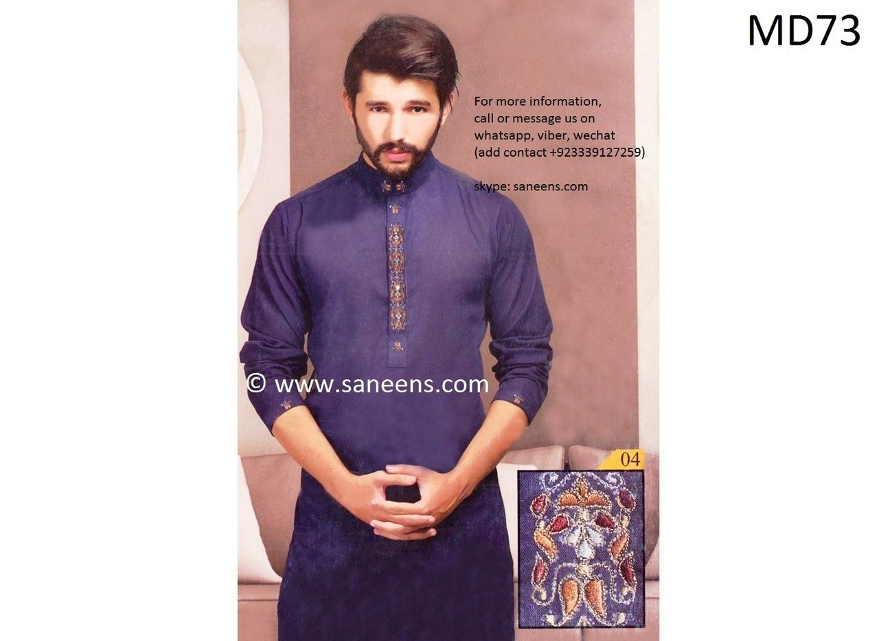 1aac37527d Afghani Dress New Style In Dark Blue Color Pakistani Wedding Dresses ...
