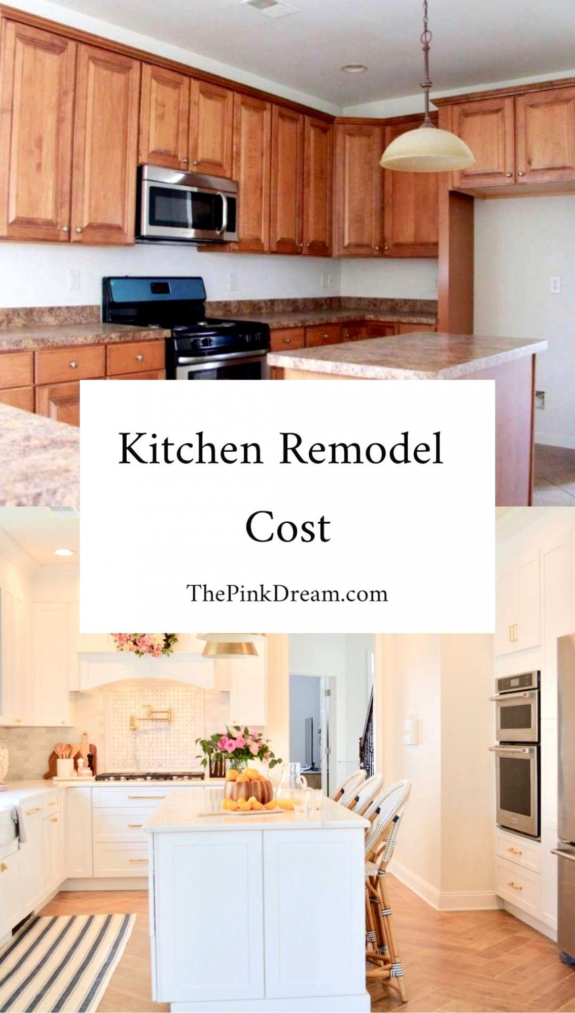 Our Kitchen Remodel Cost #Renovation | Kitchen renovation ...