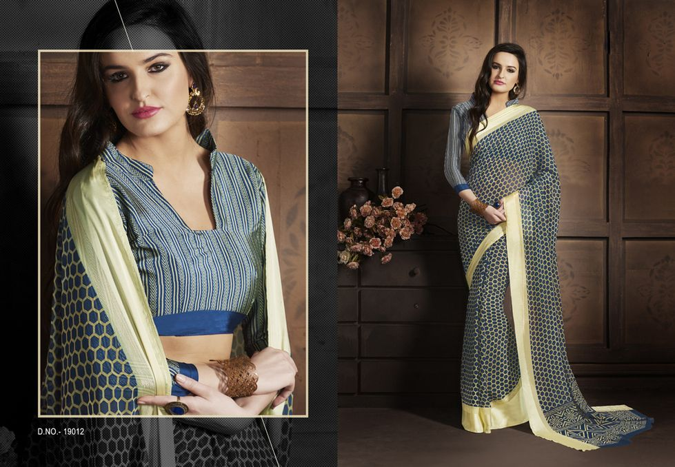 Fancy Designer Saree in different designs and colours a must have for your Party wear.  whatsapp / call / viber 919884034418 / 919444058584  An exclusive collection of Fancy Designer Saree from the house of Gautam Marketing. These designer sarees are a must have wardrobe collection and can be used for all occasions. These designs are exclusively crafted to bring the inner beauty of the women who adores our collection. --> For more updates follow us on ==>> Blog - http://bit.ly/2dH4FDG…