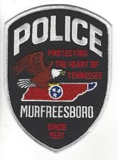 TENNESSEE POLICE DEPARTMENT PATCH MURFREESBORO