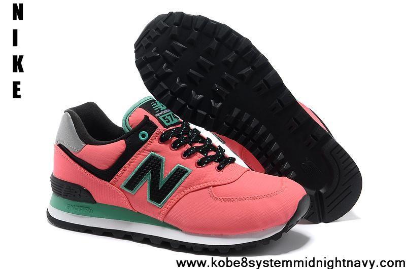 Best Gift New Balance ML574WBG Fushia White Black  Newest Now