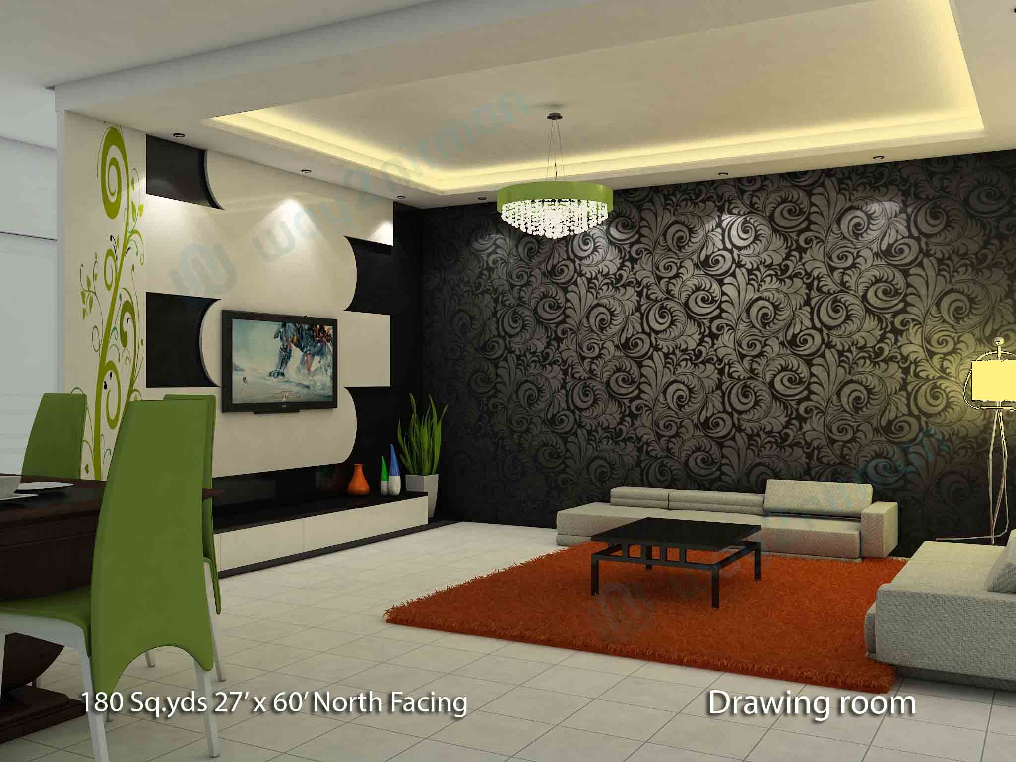 Interior Decoration Of Hall Room In 2020 With Images Hall