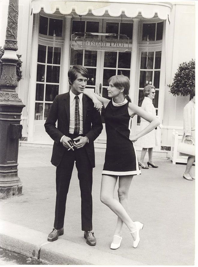 Jacques Dutronc and Zouzou. 1966