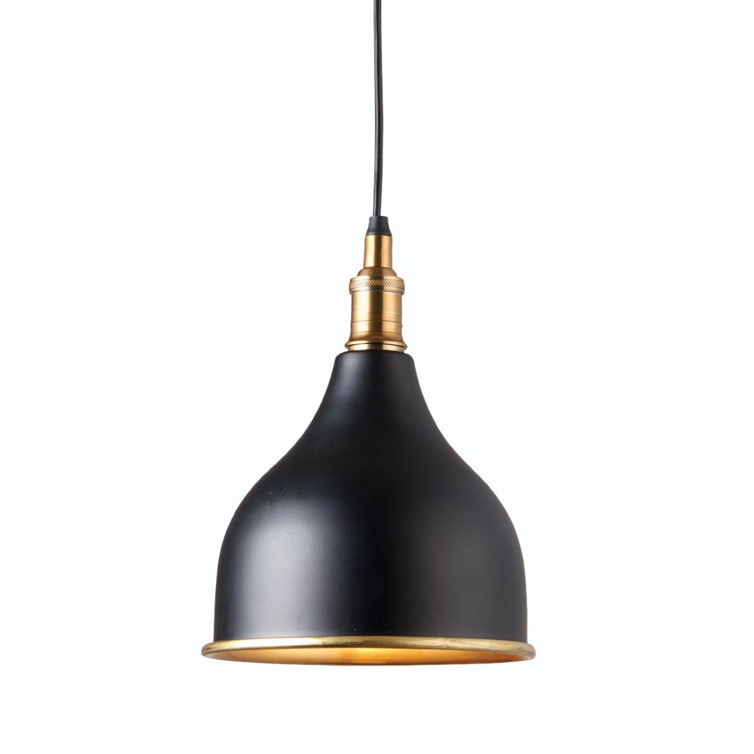 Taylor Black Gold Pendant Light Primrose Plum Gold Pendant Lighting Black Pendant Light Gold Pendant Light Kitchen