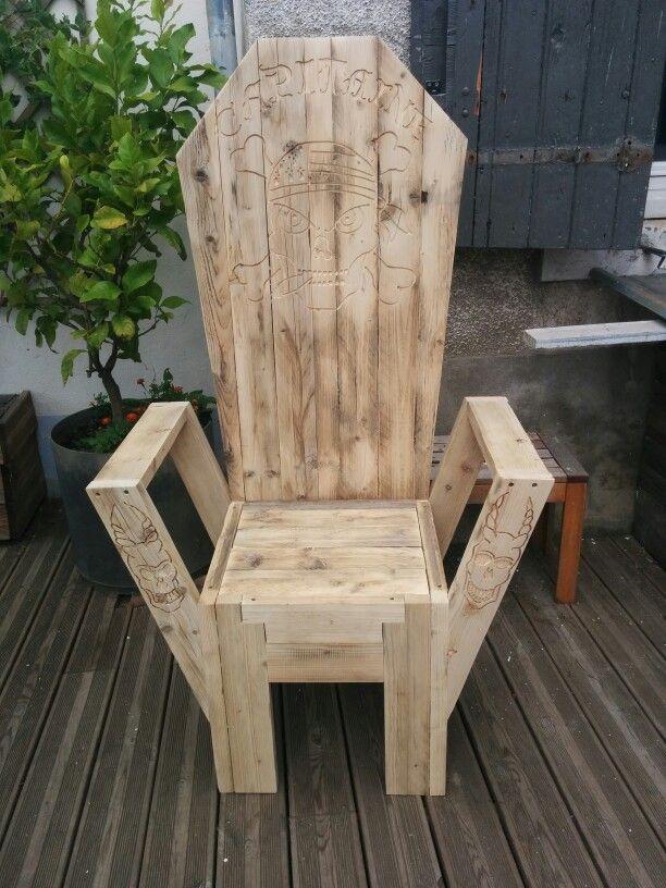 Pingl par louis griffay sur meuble fauteuil bois palette bois et bois - Chaise bois flotte ...