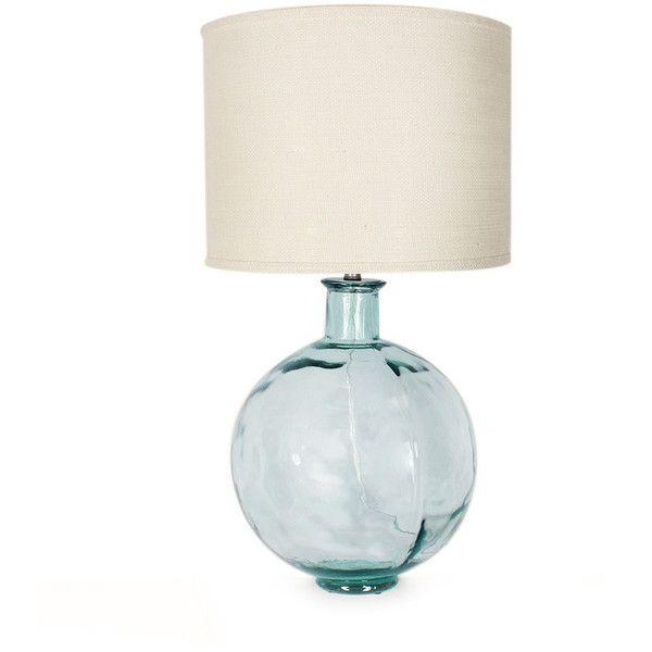 Gali Recycled Glass Ball Lamp Ball Lamps Lamp Table Lamp Lighting