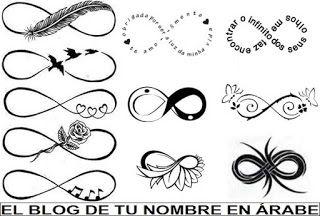 Tatuajes De Simbolos Infinito Tatu Pinterest Tatuaje Madre E - Simbolo-tatuaje