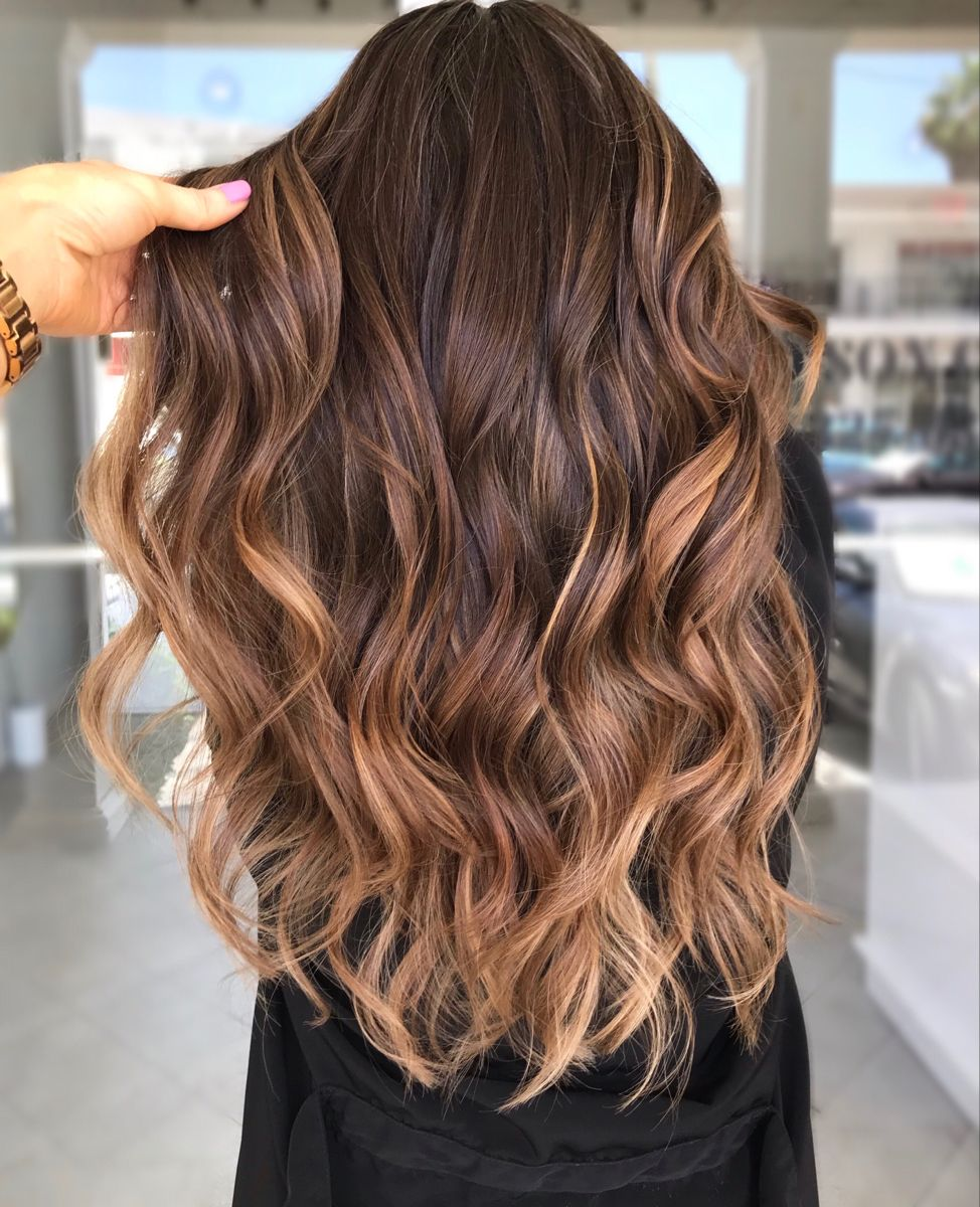 Warm chocolate hair ideas 2020