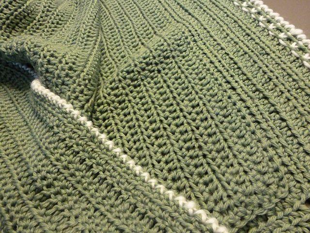 easy free crochet baby blanket pattern | Crochet Blankets ...