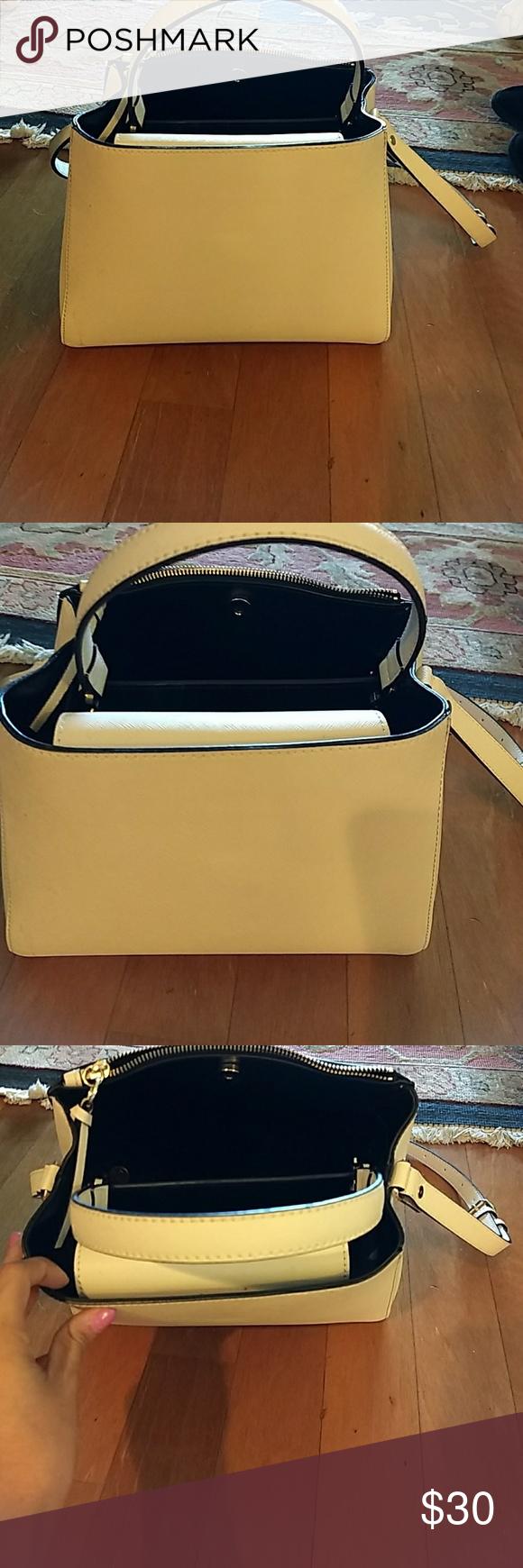Cream zara handbag Zara handbags, Zara bags, Zara