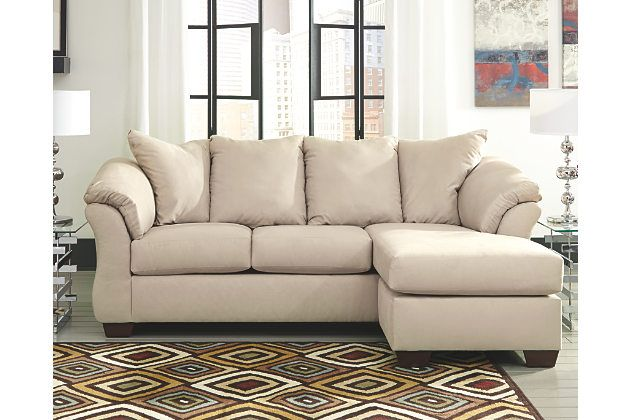 Talk About Fine Lines And Great Curves That S The Beauty Of The Darcy Sofa Chaise Made To Suit Your Apprec Ashley Furniture Sofas Chaise Sofa Ashley Furniture