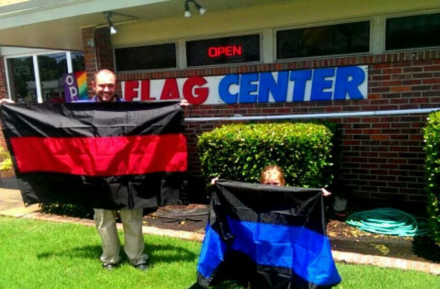 Flag center memphis tn supporting mfd and mpd memphis