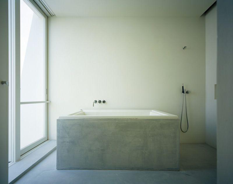 Rustieke Badkamer Kranen : John pawson concrete bathroom badkamer