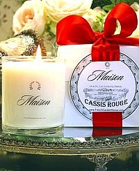Luxury MAISON Organic Provence Soy Candle-French,  Paris, verbena, lime,gift, box, upscale,island, beach, coconut, citrus,unscented, Pamplemousse Rose {Grapefruit},pomme, apple, red currant, pomegranite,candles