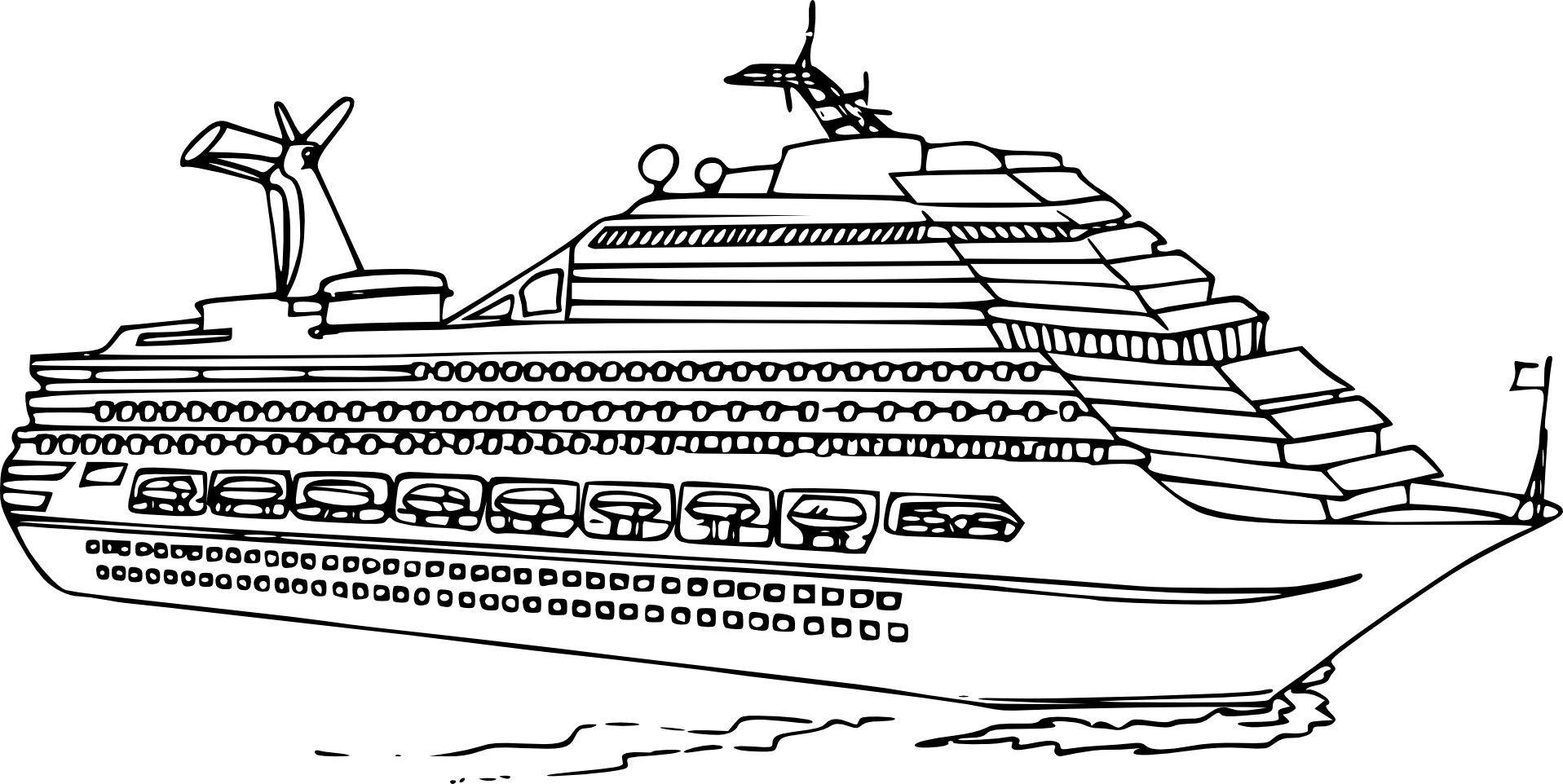 Coloriage bateau de luxe imprimer sur coloriages info coloriage bateaul cheval coloriage - Dessin petit bateau ...