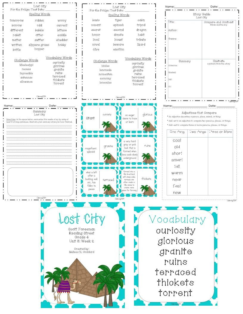 Workbooks scott foresman social studies workbook answers 5th grade : Lost City : Reading Street : Grade 4 | Lost city, Reading street ...