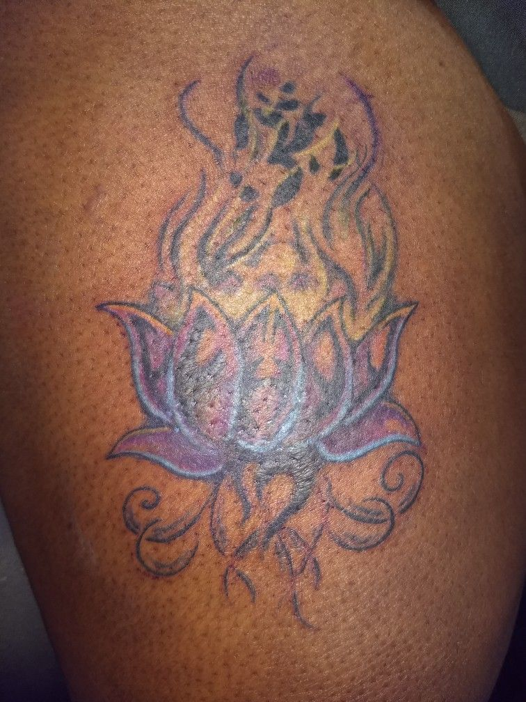 Cover Up Complete Colors On Dark Skin Tattoo Dark Skin Tattoo