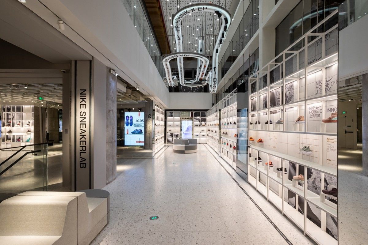 Amante Catedral Botánica  Retail Case-study: Nike's House of Innovation | Retail concepts, Innovation,  Nike innovation