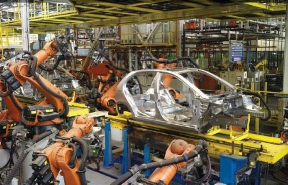 April factory production grows; so does May's retail