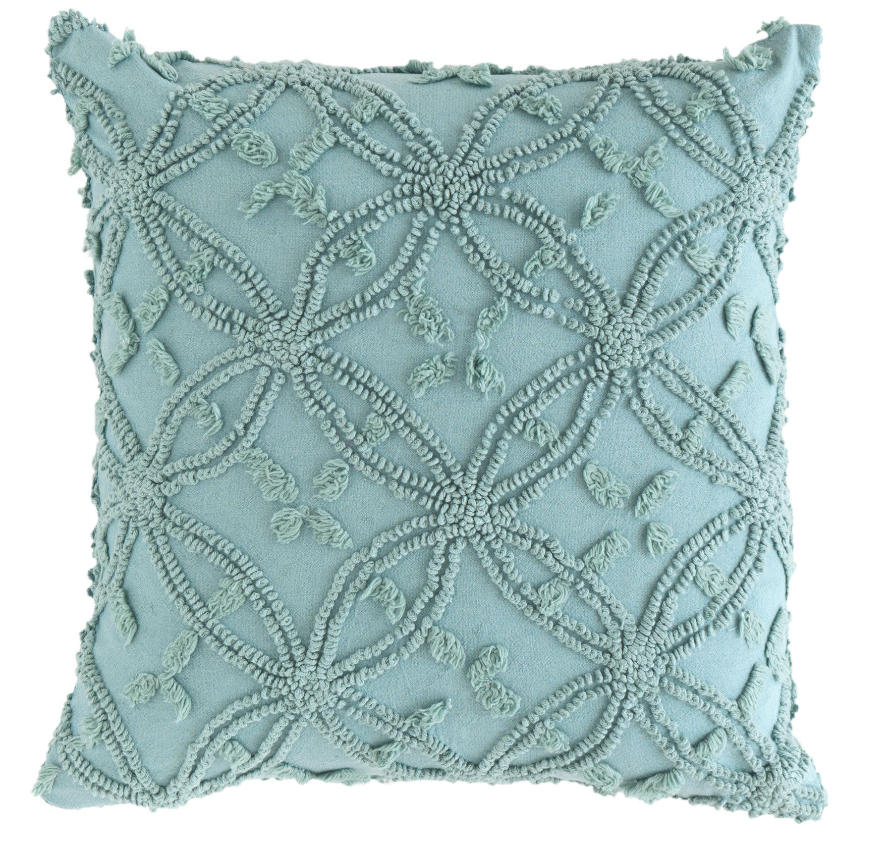 Pine Cone Hill Candlewick Throw Pillow