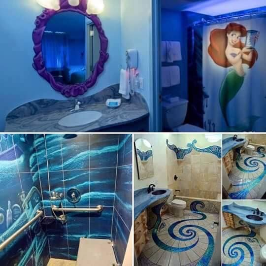 Little Mermaid Ariel Bathroom Mermaid Bathroom Girl Bathrooms Little Mermaid Bathroom