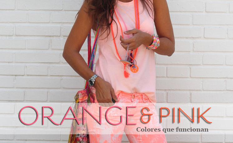 el naranja y el rosa son tendencia